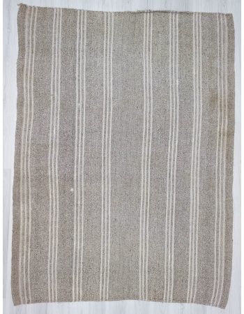 Handwoven vintage decorative modern Turkish kilim rug