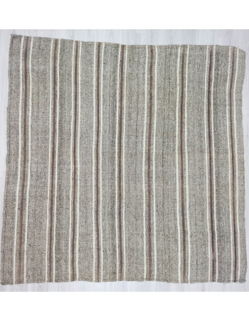 Handwoven vintage decorative square modern Turkish kilim rug