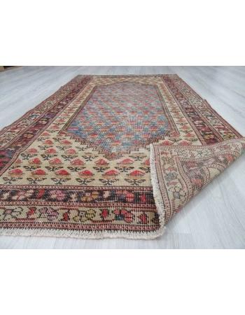 Vintage decorative Turkish carpet