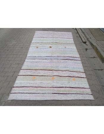 Striped Vintage Rag Rug