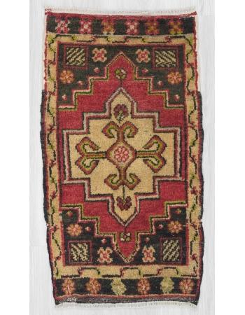 Vintage mini rug