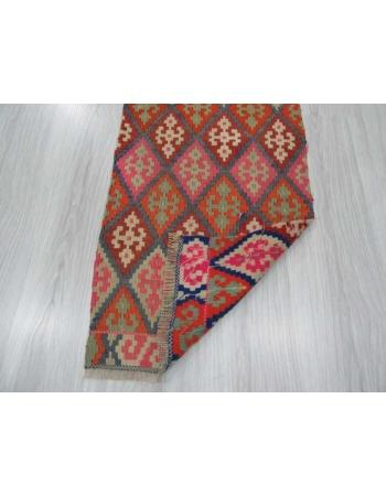 Vintage mini kilim rug