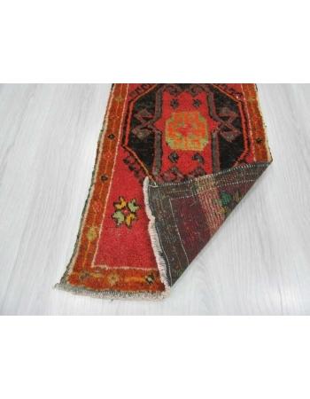 Vintage mini Turkish rug / Door mat