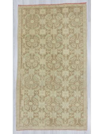 Vintage washed out Turkish rug