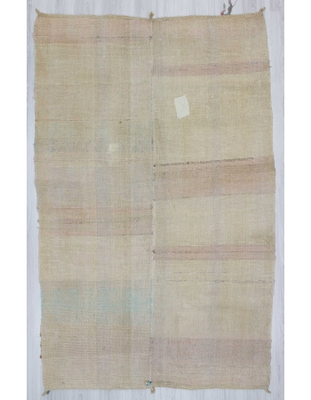 Vintage modern rag rug