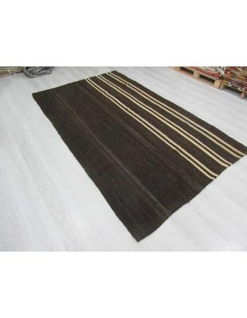 Vintage modern kilim rug