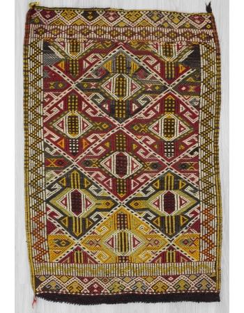 Vintage small kilim rug