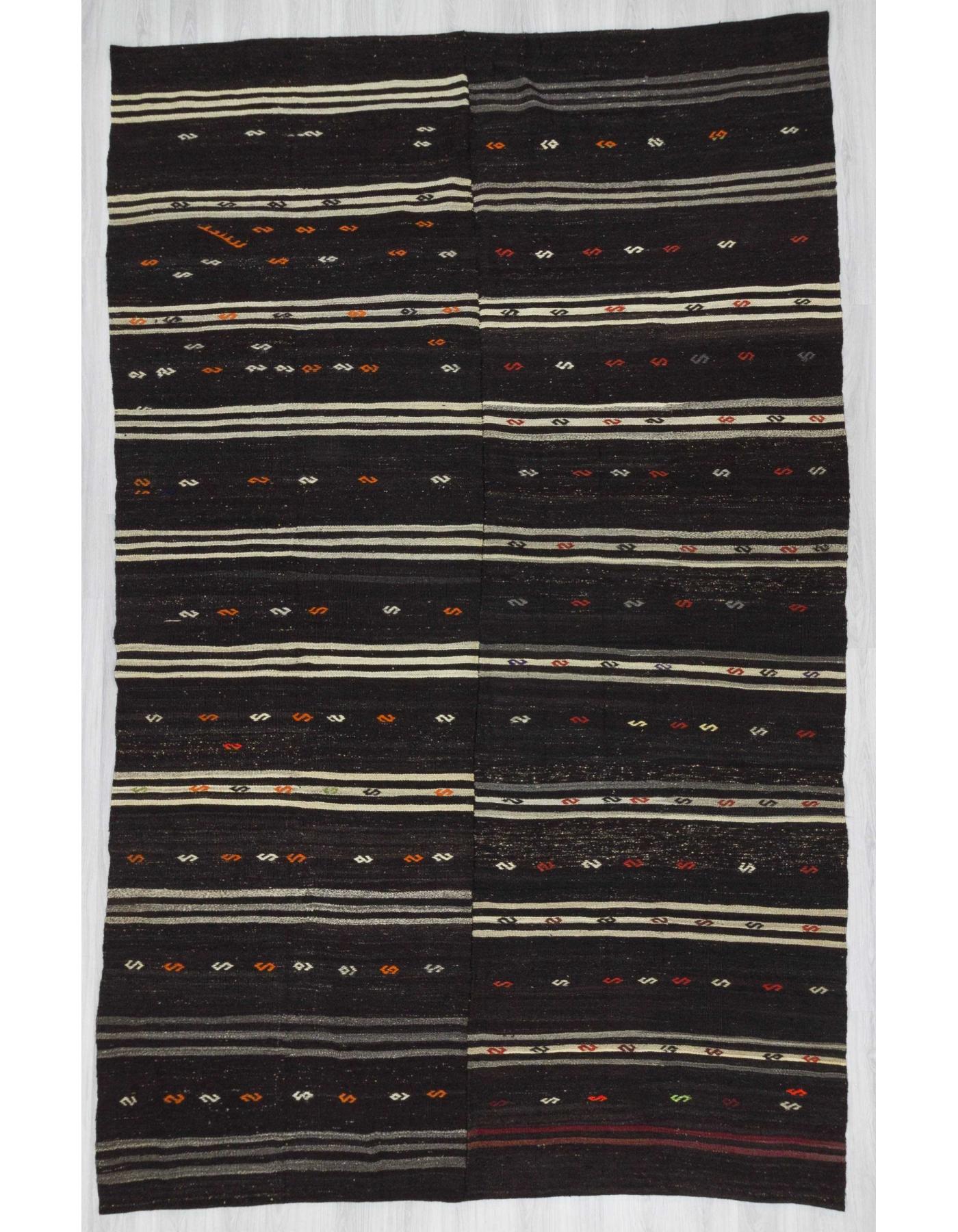 90870d2c9 Black Vintage kilim rug