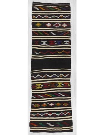 Vintage kilim runner rug