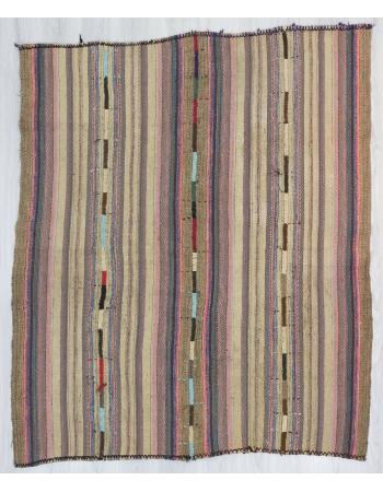Vintage Turkish Marash Kilim Rug