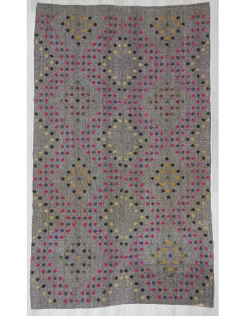 Vintage Turkish Adana Kilim Rug