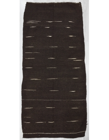 Vintage Vintage Modern Turkish Afyon Kilim Rug