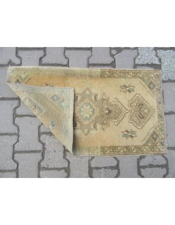 Mini Vintage Turkish Carpet