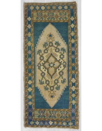 Blue / Brown Vintage Mini Carpet