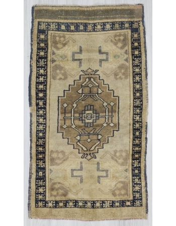 Vintage Geometric Mini Turkish Carpet