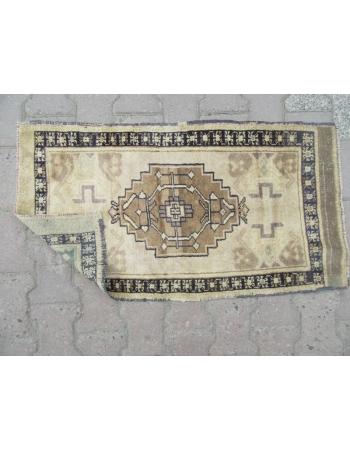Vintage Geometric Mini Turkish Carpet