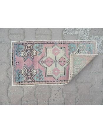 Washed Out Mini Oushak Carpet
