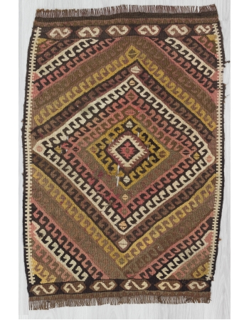 Decorative Mini Turkish Kilim Rug