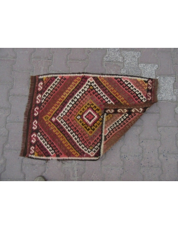 Decorative Mini Turkish Kilim Rug