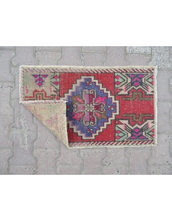 Worn Out Mini Turkish Carpet