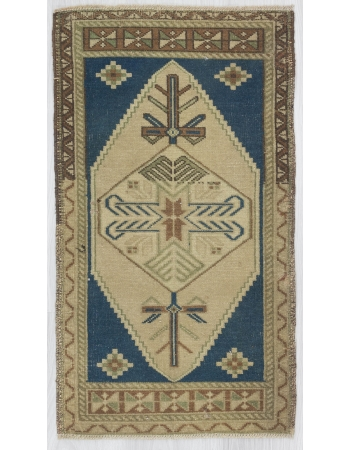 Decorative Vintage Mini Turkish Carpet