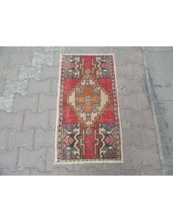 Worn Out Mini Turkish Rug