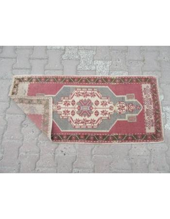 Decorative Vintage Mini Turkish Carpet