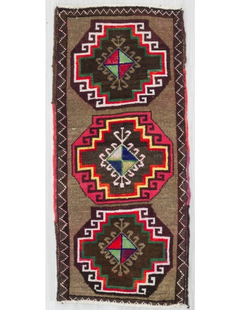 Colorful Decorative Mini Turkish Carpet