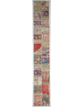 Vintage Decorative Patchwork Runner Rug