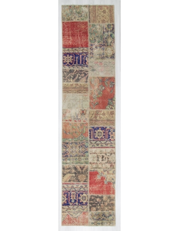 Vintage Turkish Patchwork Runner
