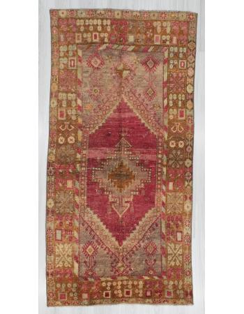 Vintage One of a Kind Turkish Anatolian Rug