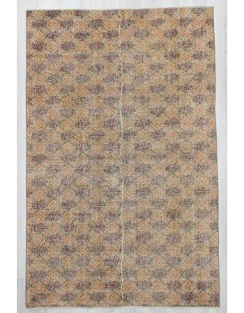 Vintage Decorative Turkish Deco Rug
