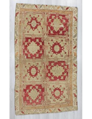 One of a Kind Vintage Turkish Wool Rug