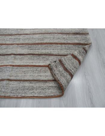 Striped Vintage Modern Turkish Kilim Rug