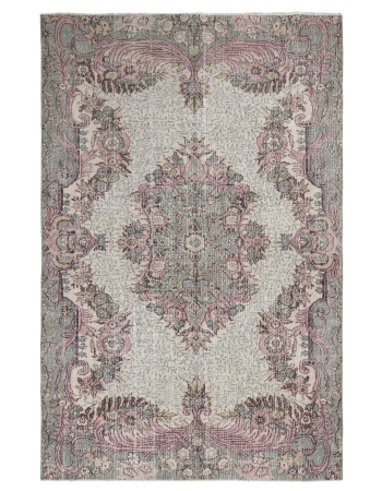 Decorative One Of A Kind Oushak Rug
