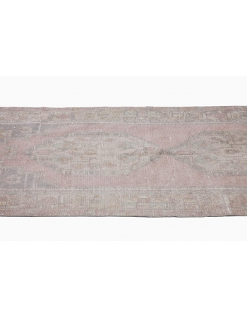 Distressed Washed Out Turkish Anatolian Rug
