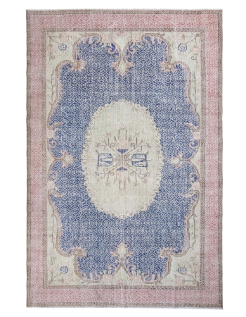 Vintage One of a Kind Oushak Rug