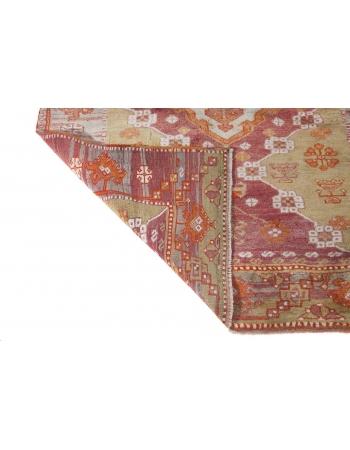 Antique Decorative Turkish Runner Rug