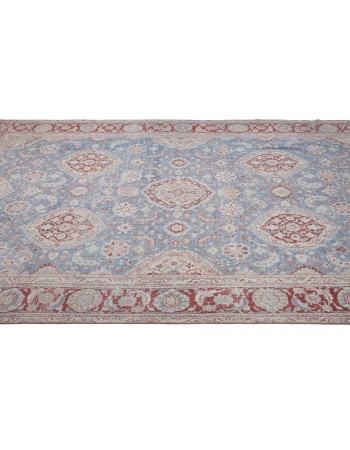 Unique Antique Large Wool Rug