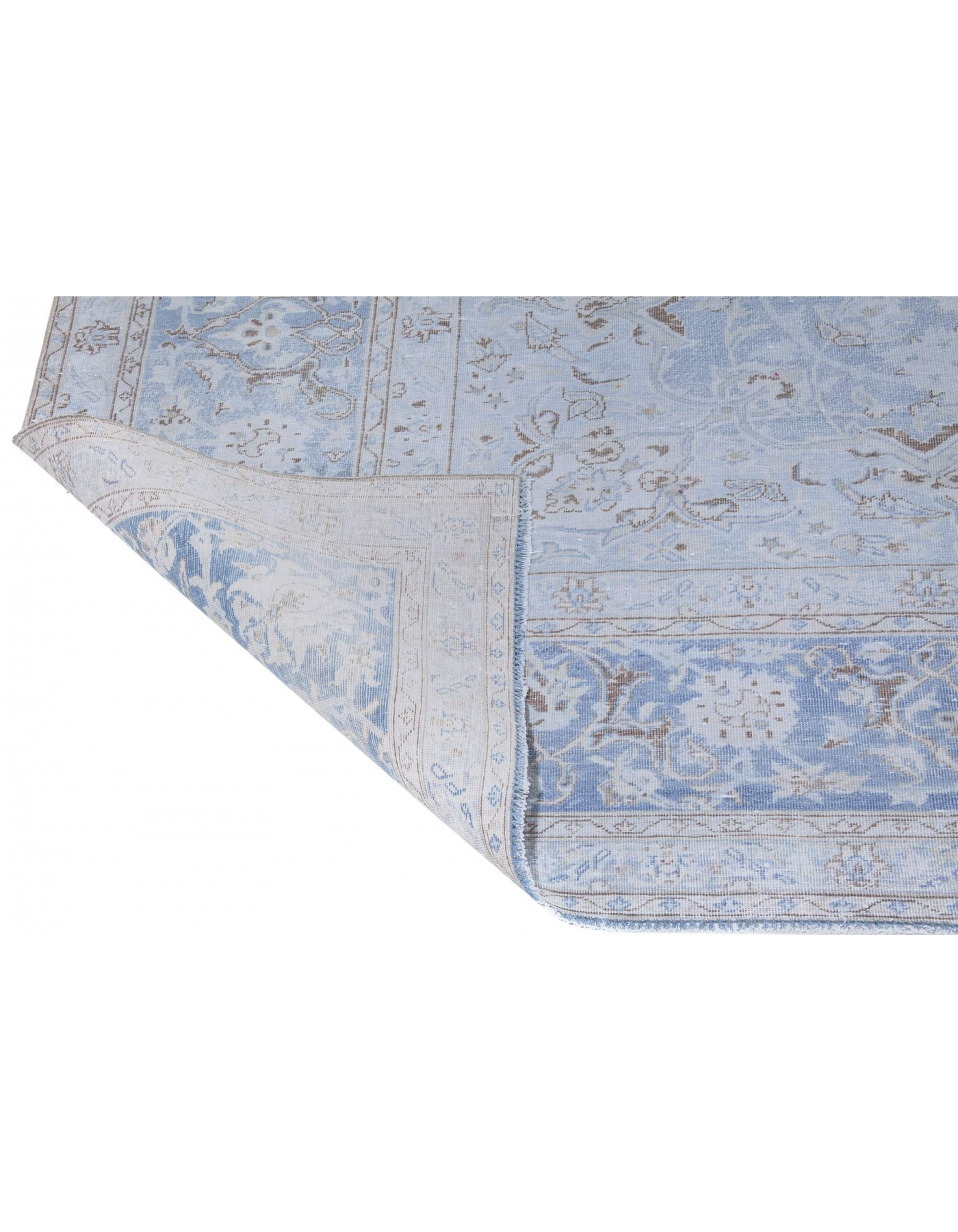 Washed Out Antique Large Wool Rug