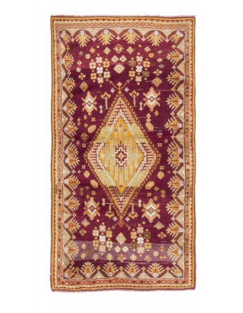 Vintage One of a Kind Turkish Rug