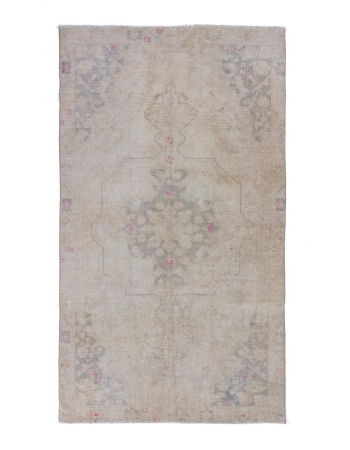 Vintage washed Out Small rug