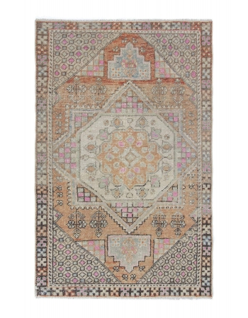 Decorative Vintage Worn Area Rug