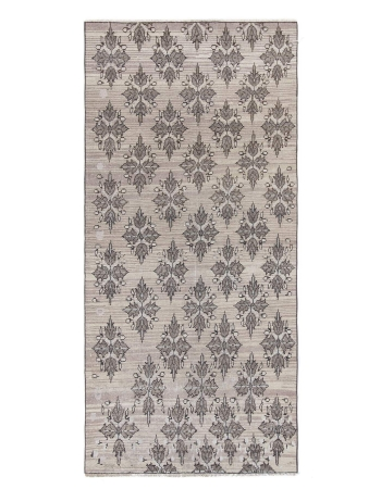Floral Vintage Washed Out Turkish Rug