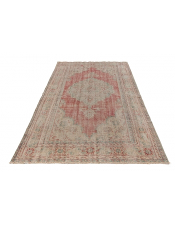 1960's Distressed Turkish Rug