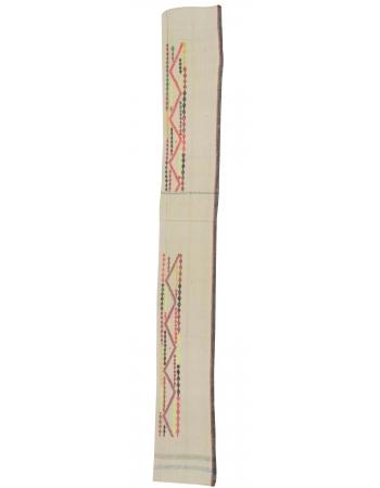 Vintage Long Turkish Kilim Runner Rug