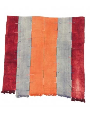 Vintage Decorative Turkish Kilim Rug