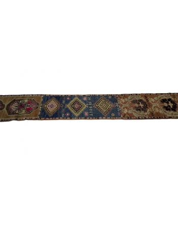 Vintage Decorative Narrow Herki Runner