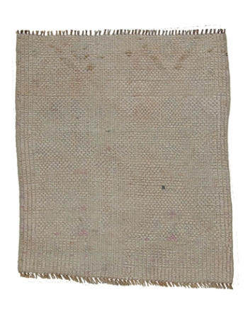 Vintage Washed Out Mini Rug