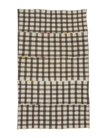 Modern Vintage Brown Kilim Rug